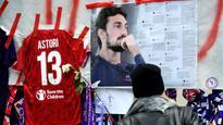 Fiorentina coach pays emotional tribute to Davide Astori