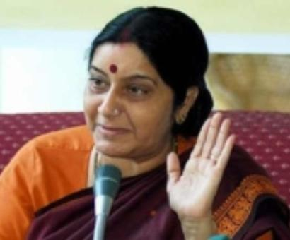 Sonia didn't ask anyone to disturb Sushma's speech: Cong