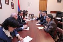 Chairman of National Assembly Standing Committee on Foreign Affairs receives OSCE PA Special  Representative on South Caucasus