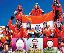 In a first, 3 NCC girls from Kashmir scale Everest