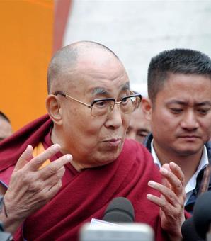 'India will pay dearly if it plays Dalai Lama card'