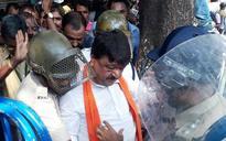BJP Lalbazar march: Party leader Kailash Vijaivargia detained by Kolkata Police