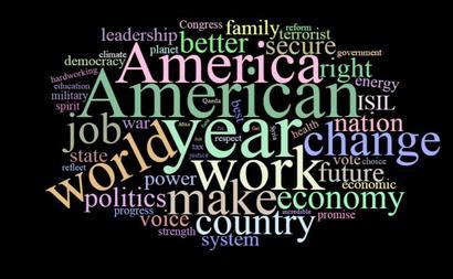 Democracy, economy, change: Key words from Obama's last State Of the Union Address