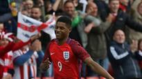 22:11Marcus Rashford marks England debut with goal