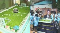 Fan Club in Kolkata celebrates Lionel Messi's 30th birthday with much fanfare