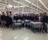 Baseball team goes on shopping spree for tornado victims