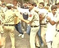Surgical politics over strikes: BJP protest against Kejriwal, Delhi CM asks 'Why is BJP frustrated'