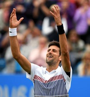 Djokovic enter semis; Konta beats Ostapenko