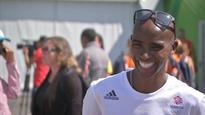 Mo Farah Reacts To Winning His Third Gold