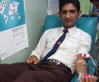Dubai: Minister Tanveer Sait graces blood donation drive by Fortune Group