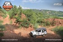 Maruti Suzuki Mughal Rally day 1 led by Sachin Singh and M. Prakash