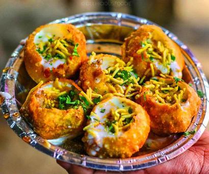 Romancing street food in India