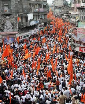 Marathas take out massive 'silent march' in Kolhapur