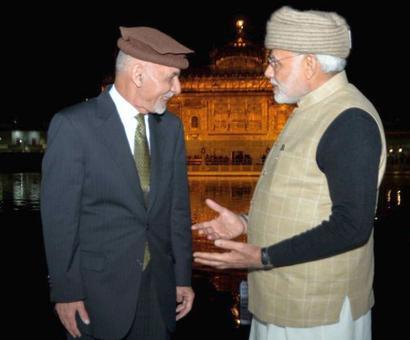 PHOTOS: Modi, Ghani visit Golden Temple