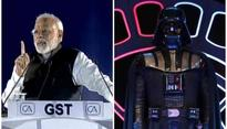 PM Modi strutting to 'Darth Vader' theme at GST event evokes mixed reactions