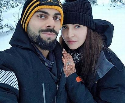 Anushka shares honeymoon picture