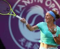 Tianjin Open: Svetlana Kuznetsova survives scare