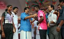 School Athletics: Mathrubhumi gold medal for Sandra Babu, Abhishek Mathew