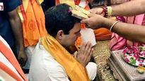 Ahead of three-day campaign, Rahul Gandhi offers prayers at Dwarkadhish temple in Gujarat