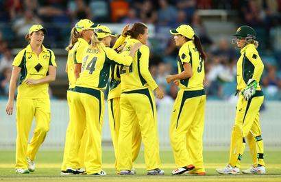 Australia women thump India in Hobart, seal ODI series