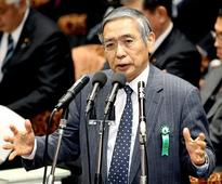 BOJ governor doesn't exclude possibility of negative interest rates on individuals' deposits