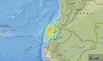 Strong earthquake shakes Ecuador