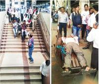 Two collapse in packed Mumbai local