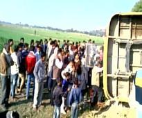 17 children injured as school bus overturns in MP