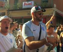 Tyson Fury makes surprise appearance at Euro 2016
