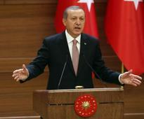 Turkey's President Recep Tayyip Erdogan slams EU, justifies death penalty