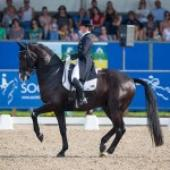 Judy Reynolds and Vancouver K impress yet again in Olympic Dressage Final