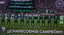 CONMEBOL confirms Chapecoense as 'champions of the Copa Sudamericana'