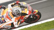 Marquez fastest in Sepang despite bad stomach