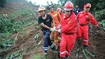 1 missing, 6 injured in landslides in China