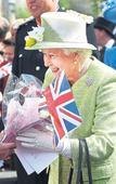 Sant Jordi and Queen Elizabeth