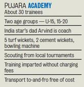 Pujaras Look to Give Back to Gentleman's Game with Academy that Charges Zilch