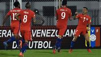 Venezuela 1 Chile 4: Vidal, Pinilla braces see Pizzi's men to win
