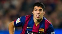 Football is for men - Luis Suarez comes for Athletico Madrid's Filipe Luis