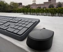 Logitech K120 Hindi keyboard and MK235 Wireless Hindi keyboard combo launched in India starting at Rs. 695