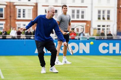 McEnroe to no longer coach Roanic
