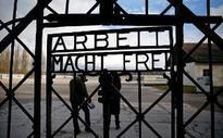 'Arbeit macht frei' sign stolen from Dachau concentration camp 'found in Norway'