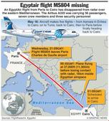 No survivors' as debris reported from missing EgyptAir plane