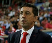 Super League: Olympiakos sack manager Besnik Hasi after derby defeat to leaders AEK Athens