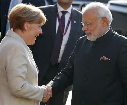 Modi congratulates German Chancellor Merkel on assuming office for fourth term