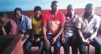 BMJS kidnap: Court remands six suspects in prisons