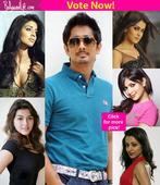Trisha Krishnan, Shriya Saran, Hansika Motwani- Which of these 5 hotties look best with Siddharth?