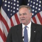 Tim Kaine Resumes Old Role in the Senate With New Spotlight