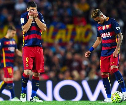 Barcelona down but not out...