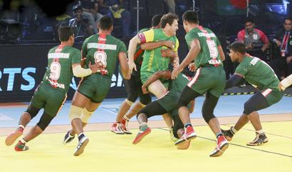 Iran stunned by minnows Poland in Kabaddi World Cup