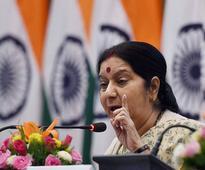 Sushma Swaraj expresses shock over shooting incident in Kansas